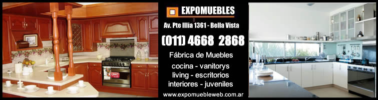 , Jose C Paz y Malvinas Argentinas  Muebles de cocina, de algarrobo