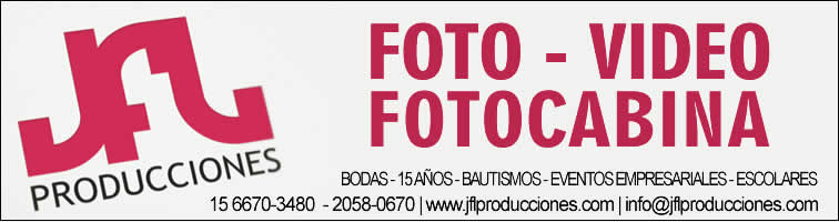 Fotografia y video, JFL Producciones
