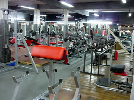 Megacenter gym el gimnasio mas grande y completo de la for Gimnasio 19